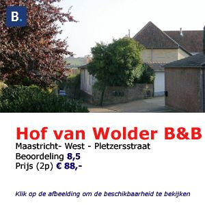 Bed and breakfast Hof van Wolder Maastricht