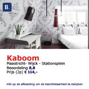 Bed and breakfast kaboom Maastricht